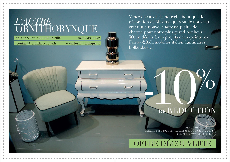 l autre ornithorynque bons cadeaux tendances d co bons plans marseille entre nous magazine. Black Bedroom Furniture Sets. Home Design Ideas