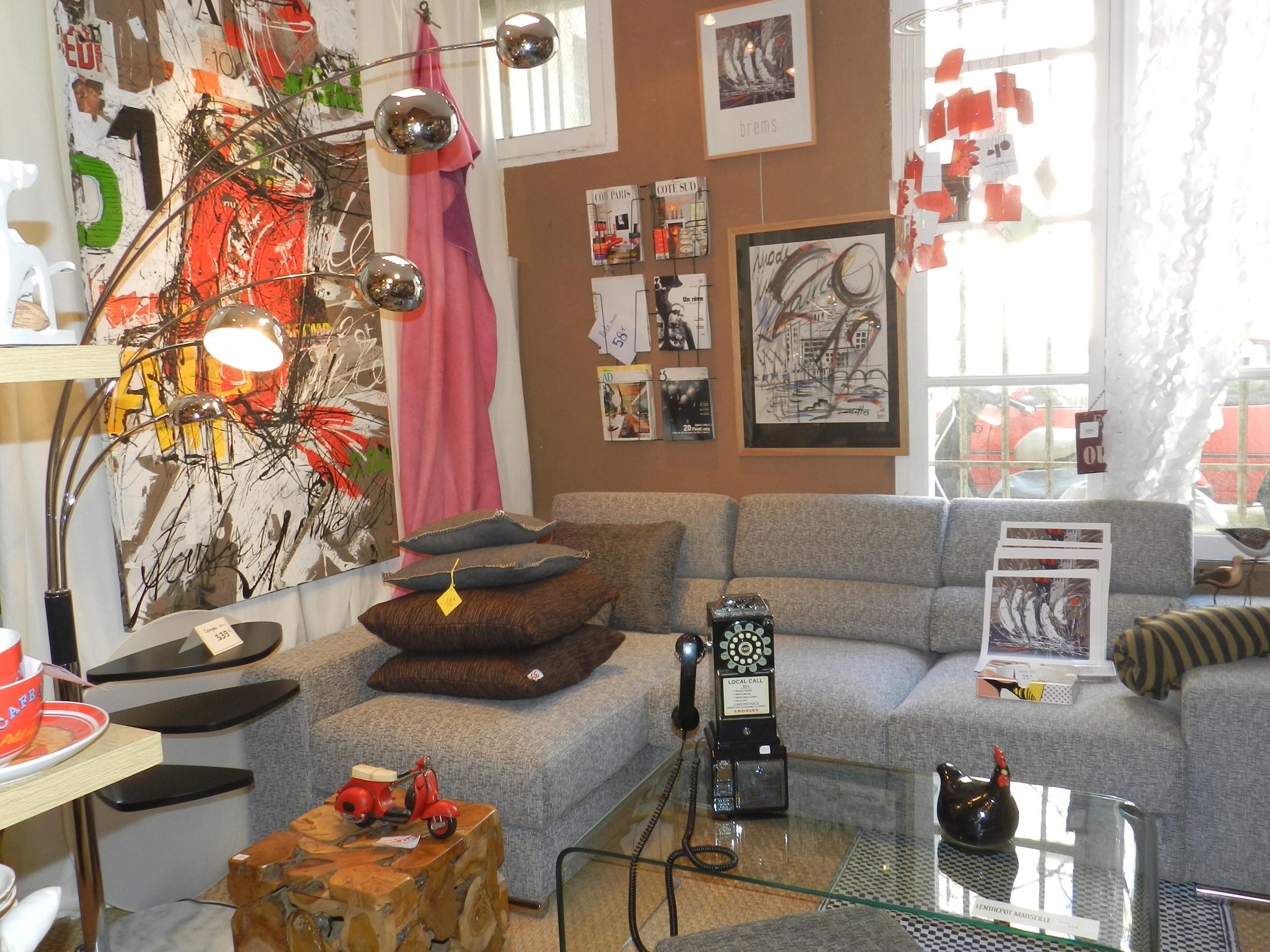 l 39 entrep t magasin de d coration sur marseille 6 me d coration tendances d co bons plans. Black Bedroom Furniture Sets. Home Design Ideas