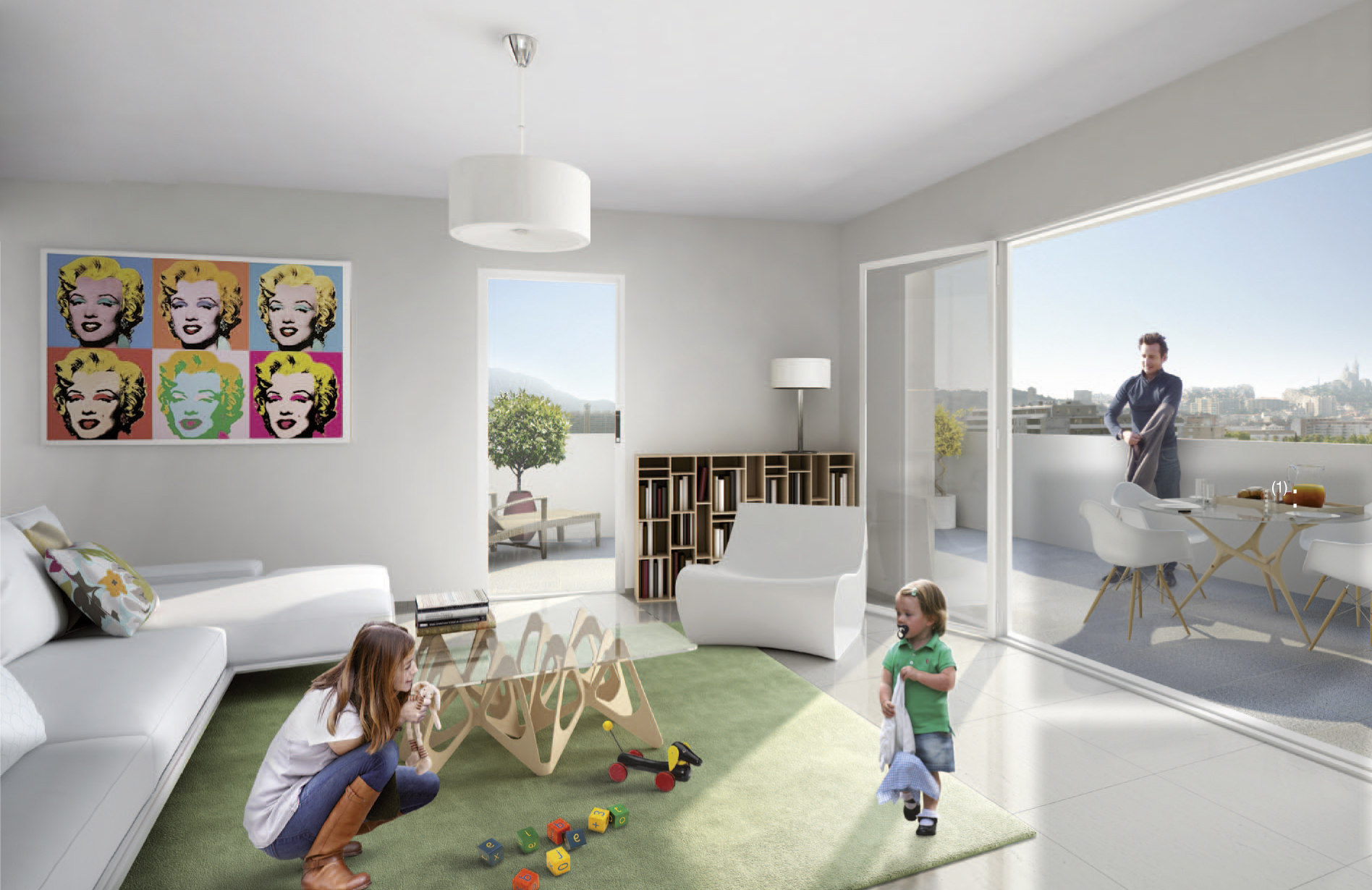 Immobilier programme neuf villa nova marseille 10e - Appartementpiece tendance immobiliere ...
