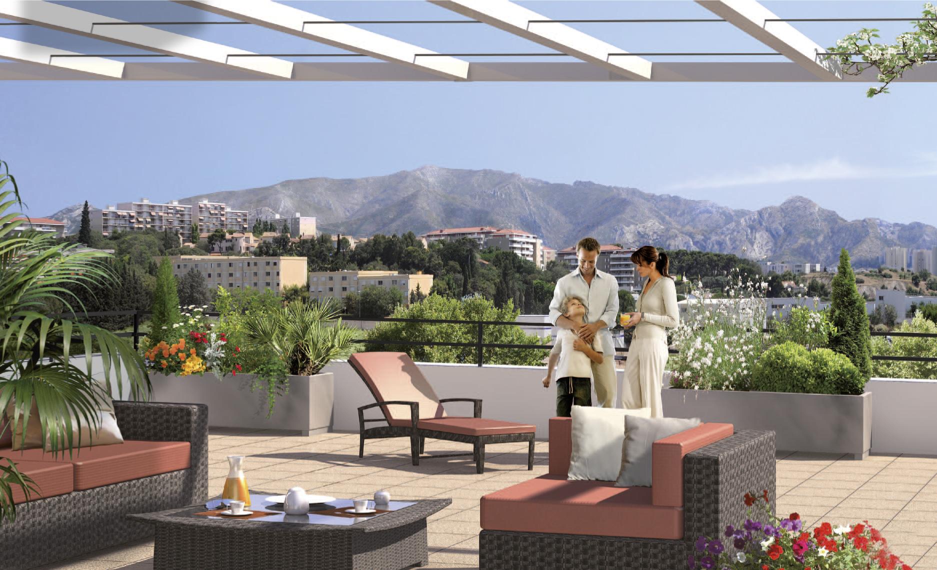 programme immobilier neuf domaine grand soleil marseille 12e immobilier tendances d co bons. Black Bedroom Furniture Sets. Home Design Ideas