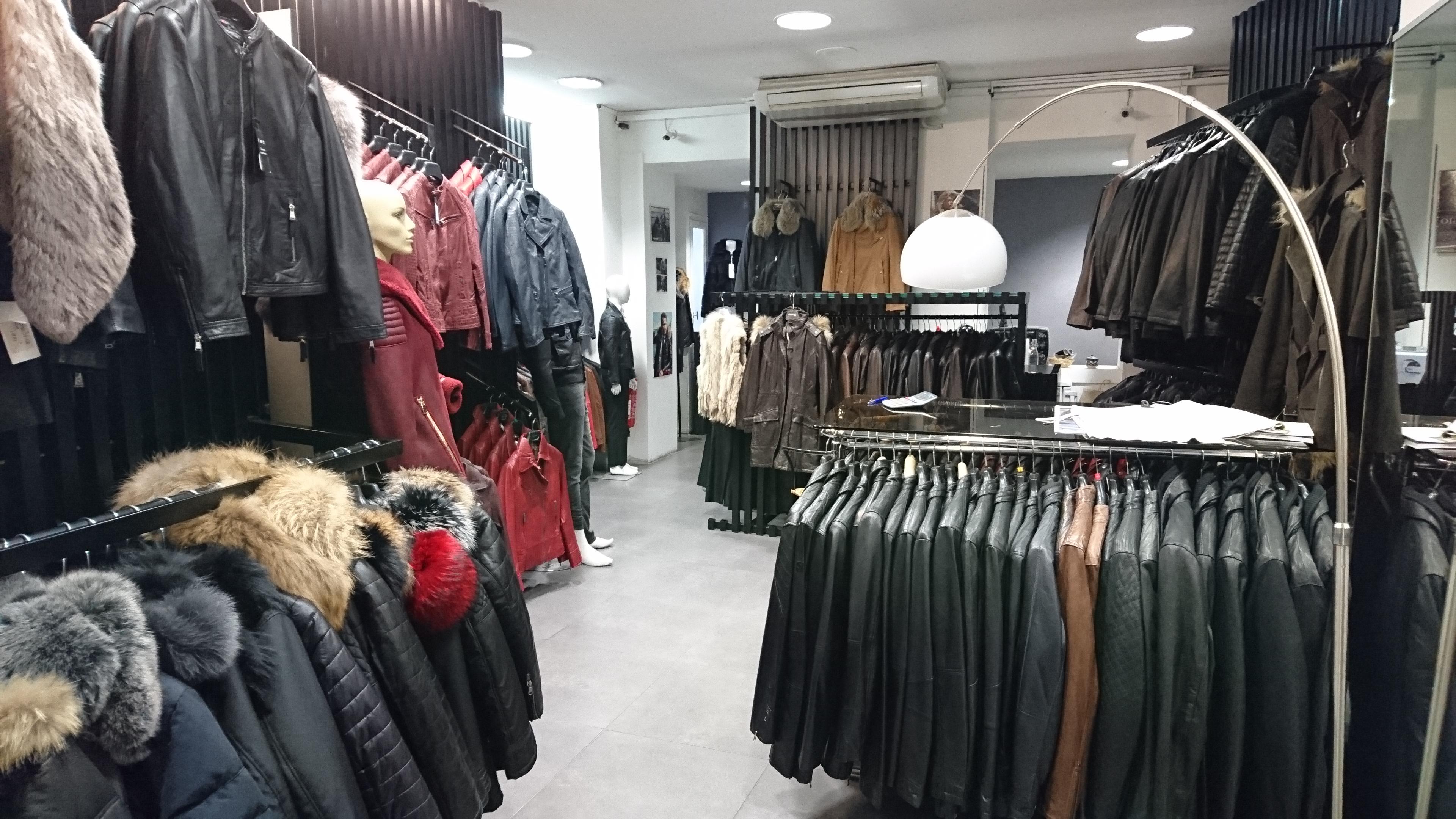 Vente de vêtements en cuir homme femme à Marseille